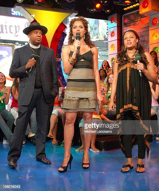 Joseph Rev Run Simmons MTV VJ Susie Castillo and Justine Simmons