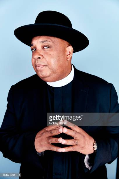 Joseph 'Rev Run' Simmons of Netflix's 'All About the Washingtons' poses for a portrait during the 2018 Summer Television Critics Association Press...