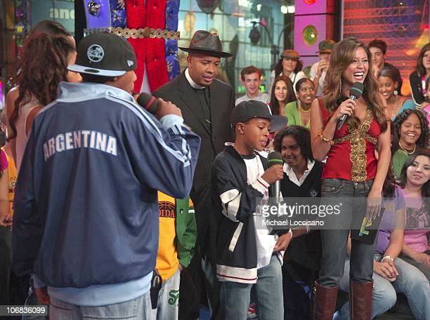Joseph Reverend Run Simmons son Diggy and MTV VJ Vanessa Minnillo