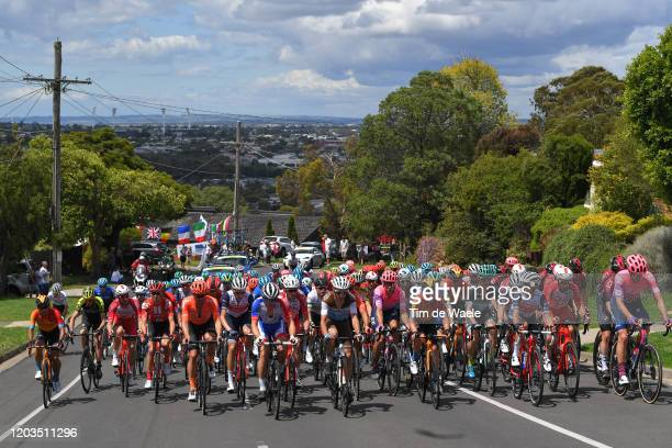 Joseph Rosskopf of The United States and CCC Team / Jay Mccarthy of Australia and Team BORA-Hansgrohe / Juan Pedro Lopez of Spain and Team...