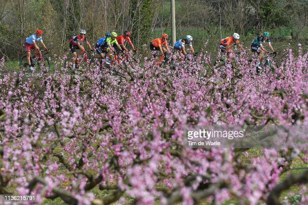 Joseph Rosskopf of The United States and CCC Team / Nans Peters of France and Team AG2R La Mondiale / Rob Power of Australia and Team Sunweb / Marcus...