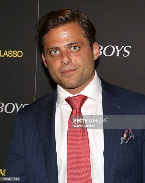 Joseph Russo attends a special New York screening reception for 'Jersey Boys' hosted by Angelo Galasso at Angelo Galasso on June 2014 in New York City