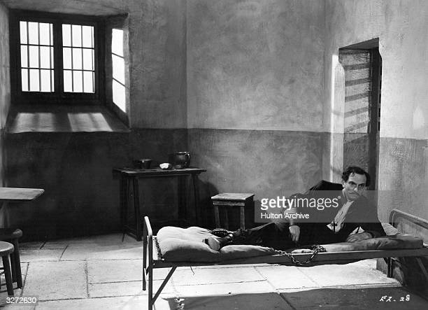 Joseph Schildkraut stars as Dreyfus in the film 'The Life Of Emile Zola' the story of the French writer who intervened in the famous case of Alfred...