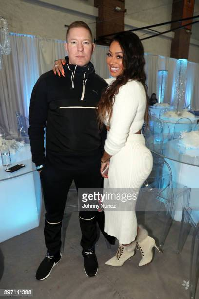Joseph Sikora and La La Anthony attend The 2017 Winter Wonderland Holiday Charity Event at Gauchos Gym on December 21 2017 in New York City