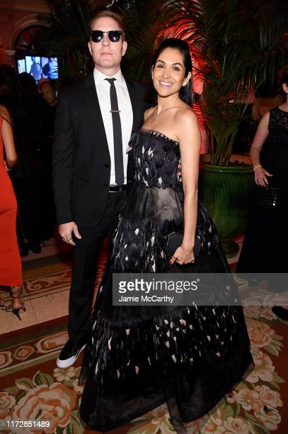 Joseph Sikora and Lela Loren attend as Harper's BAZAAR celebrates ICONS By Carine Roitfeld at The Plaza Hotel presented by Cartier Inside on...