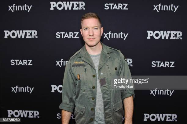 Joseph Sikora attends the Chicago special screening of the Power season 4 premier hosted by Starz and Xfinity at Showplace Icon Theater on June 13...