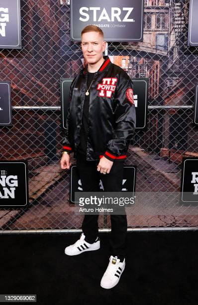 "Joseph Sikora attends the ""Power Book lll: Raising Kanan"" New York Premiere at Hammerstein Ballroom on July 15, 2021 in New York City."