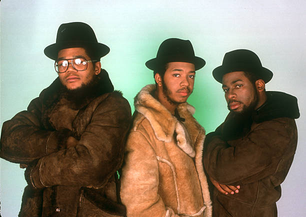 Run DMC Studio Portrait Session In NY Wall Art