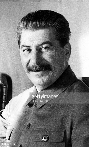 Joseph Stalin *21121879 Politician USSR portrait 1932 Photographer James E Abbe Vintage property of ullstein bild