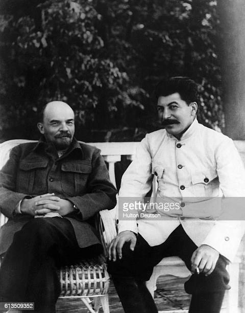 Joseph Stalin and Vladimir Ilyich Lenin . Lenin founded the Soviet state and was succeeded by Stalin, who adopted more dictatorial methods of...