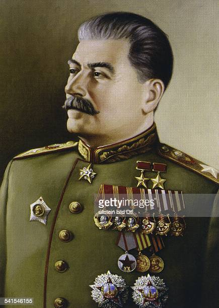 Joseph Stalin nee Joseph Vissarionovich Jugashvili *21121879 politician Generalissimo of the Soviet Union 19221953 General Secretary / First...