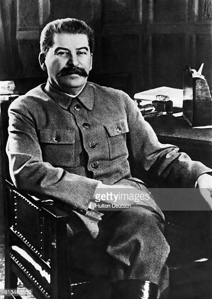 Joseph Stalin Seated