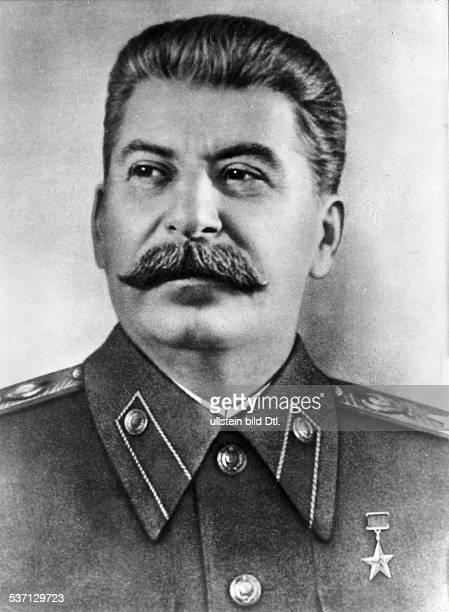Joseph StalinJosef Stalin Politiker UdSSR Porträt ohne Jahr