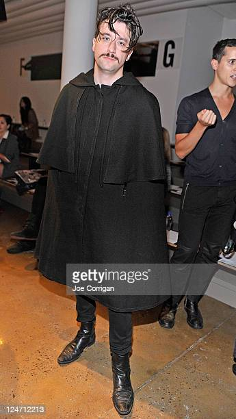 Joseph Turian NLP/ML/big data consultant attends the Jeremy Laing Spring 2012 fashion show during MercedesBenz Fashion Week at Milk Studios on...