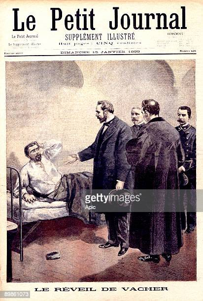 Joseph Vacher, The Jack the ripper of France, locked in the prison of Bourg-en-Bresse, where he is waking up by The director of the prison came to...