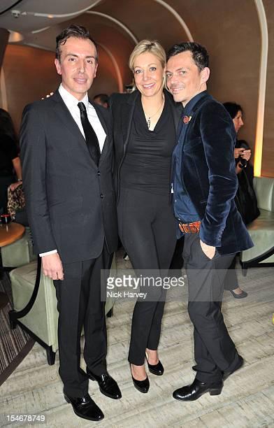 Joseph Velosa Nadja Swarovski and Matthew Williamson attend a private screening of Matthew Williamson XV hosted by Nadja Swarovski at Nobu Berkeley...