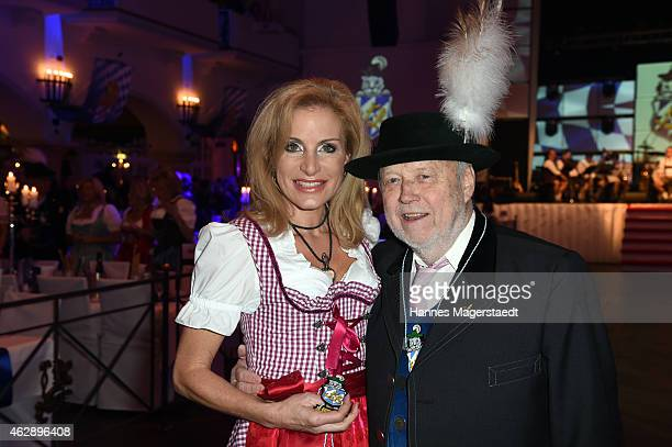 Joseph Vilsmaier and Birgit Muth attend the Filserball 2015 at Loewnbraeukeller on February 6 2015 in Munich Germany