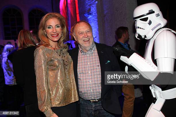 Joseph Vilsmaier and Birgit Muth attend the Generation Sky Event at Reithalle on October 30 2014 in Munich Germany