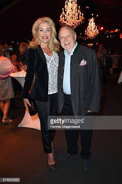 Joseph Vilsmaier and Birgit Muth attend the 'Teatro Summer Night's Premiere In Munich' on May 23 2015 in Munich Germany