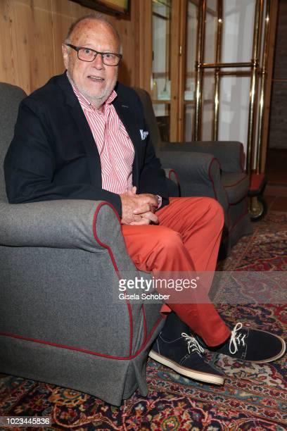 Joseph Vilsmaier attends the closing ceremony of the Kitzbuehel Film Festival at Hotel Reisch on August 25, 2018 in Kitzbuehel, Austria.