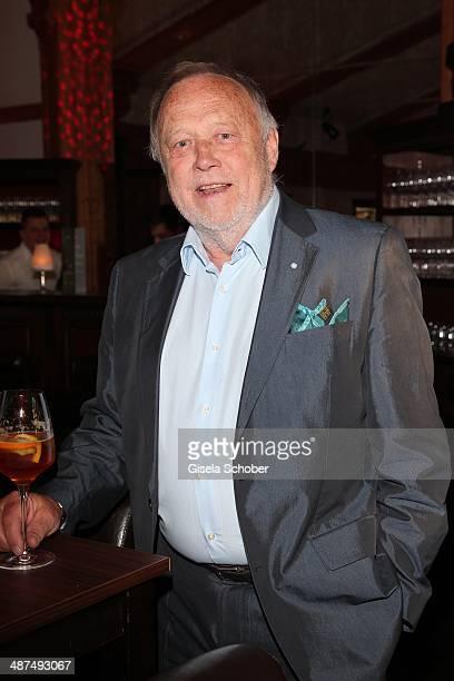Joseph Vilsmaier attends the Wempe Piano Night at Gruenwalder Einkehr on April 30, 2014 in Munich, Germany.