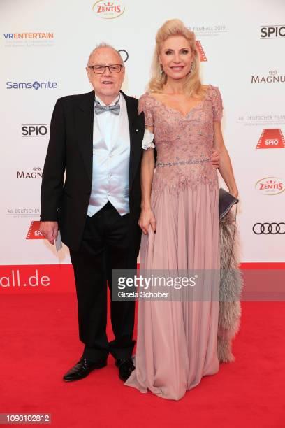 Joseph Vilsmaier Birgit Muth during the 46th German Film Ball at Hotel Bayerischer Hof on January 26 2019 in Munich Germany