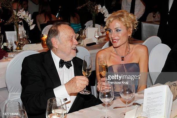 Joseph Vilsmaier Birigt Muth attend the German Opera Ball 2012 at the Alte Oper on February 25 2012 in Frankfurt Germany