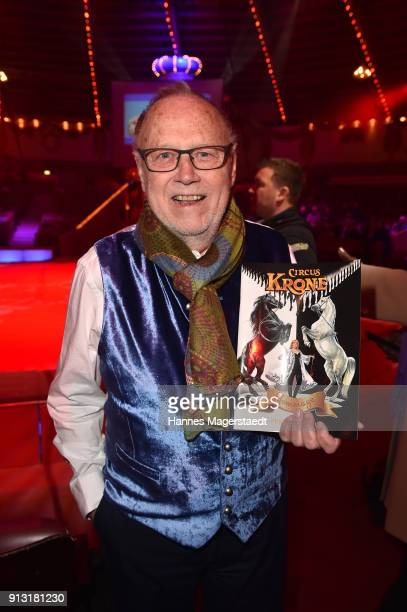 Joseph Vilsmaier during Circus Krone celebrates premiere of 'Hommage' at Circus Krone on February 1 2018 in Munich Germany