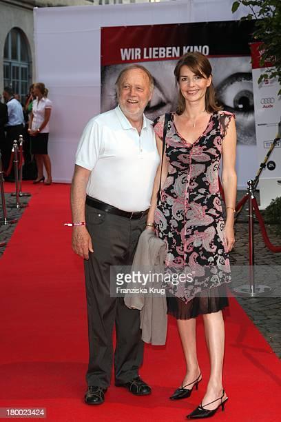 Joseph Vilsmaier Und Ehefrau Dana Vavrova Bei Wir Lieben Kino Director'S Cut Party Auf Der Praterinsel In München Am 210608