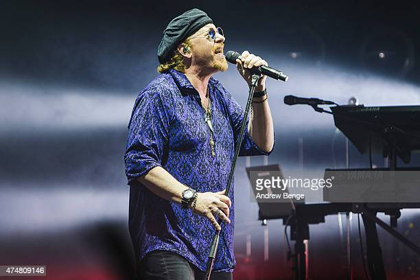 Joseph Williams of Toto performs on stage at Eventim Apollo on May 26 2015 in London United Kingdom