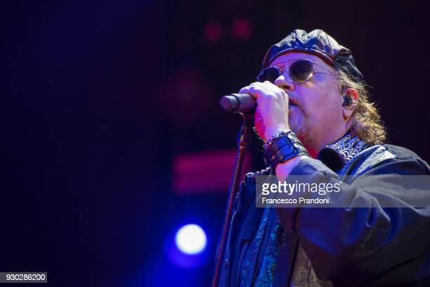 Joseph Williams of Toto performs on stage at Mediolanum Forum on March 10 2018 in Milan Italy
