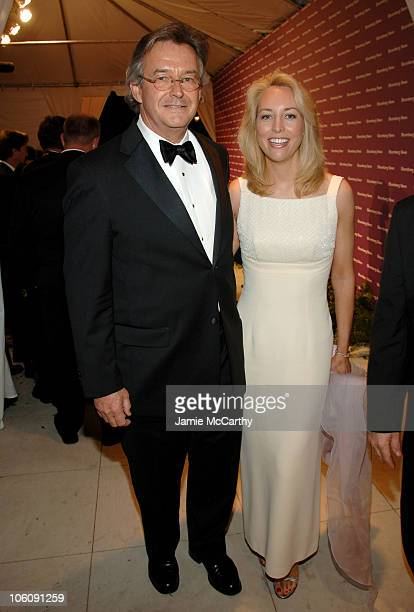 Joseph Wilson and Valerie Plame during 2006 White House Correspondents Dinner Bloomberg News After Party at Embassy of the Republic of Macedonia in...