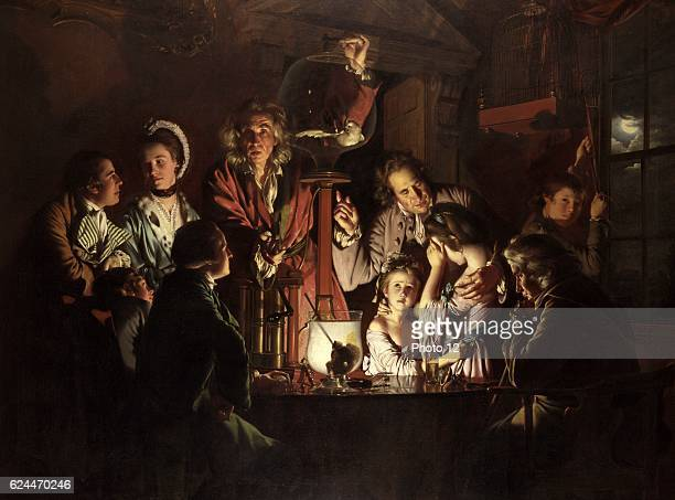 Joseph Wright of Derby English school An Experiment on a Bird in the Air Pump 1768 Oil on canvas London National Gallery