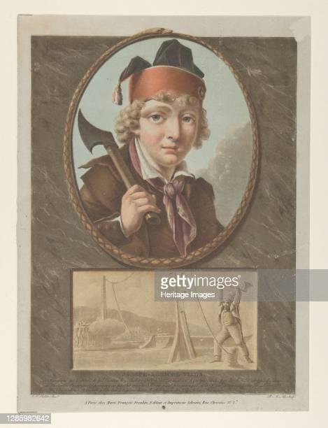 Joseph-Agricol Viala, after Sablet, circa 1795. Artist Pierre Michel Alix.