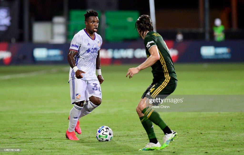 Portland Timbers v FC Cincinnati: Knockout Round - MLS Is Back Tournament : News Photo