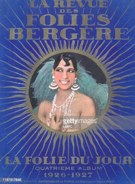 Josephine Baker In Poster Art poster 1926
