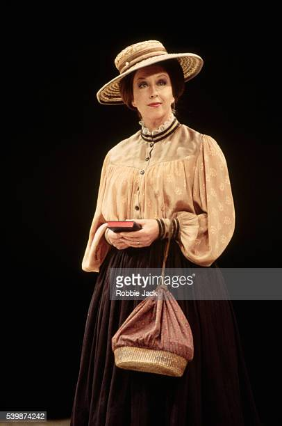 Josephine Barstow performs in a Royal Opera production of Peter Grimes April 1995
