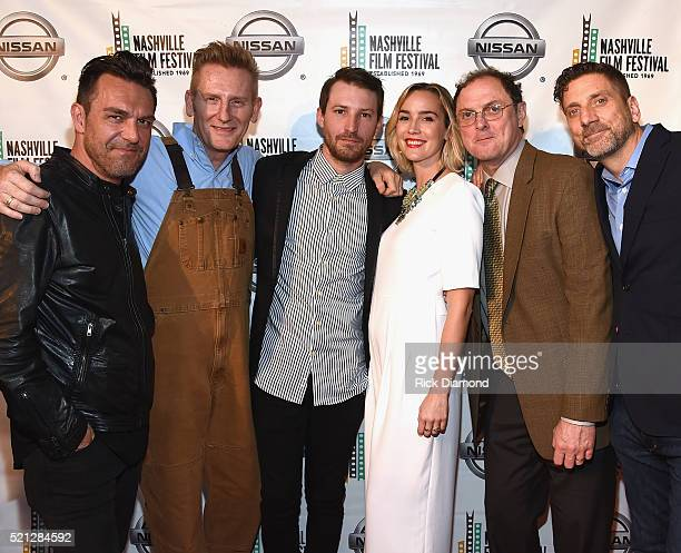 Josephine Cast and Crew Jessejames Locorriere Rory Feeks Linds Edwards Heidi Feeks Boris McGiver and Aaron Carnahan attend the 2016 Nashville Film...