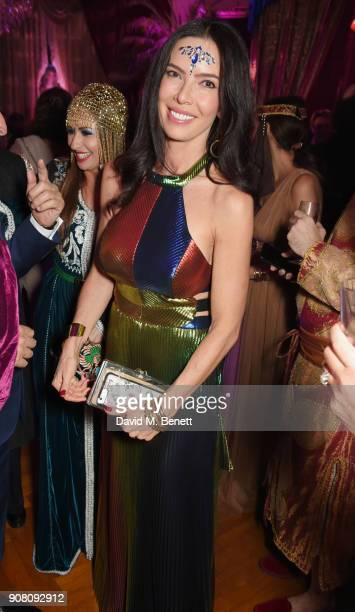 Josephine Daniel attends Lisa Tchenguiz's birthday party on January 20 2018 in London England
