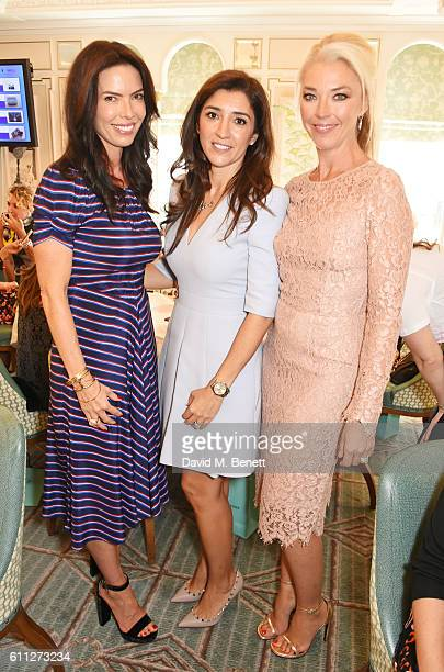 Josephine Daniel Fabiana Flosi and Tamara Beckwith attend the 3rd Annual Ladies' Lunch in support of the Silent No More Gynaecological Cancer Fund at...