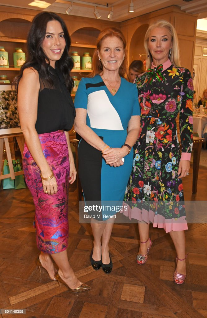 The 4th Annual Gynaecological Cancer Fund Ladies' Lunch At Fortnum & Mason : News Photo