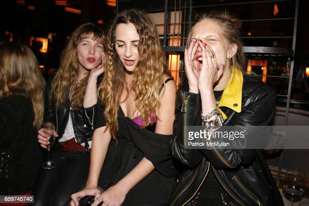 Josephine de la Baume Alexia Niedzielski and Annabelle DexterJones attend TOPSHOP TOPMAN HOSTS PRIVATE DINNER TO CELEBRATE FLAGSHIP STORE OPENING at...