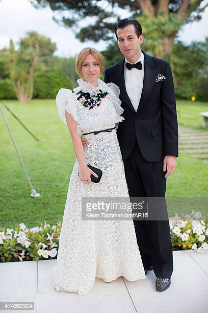 Josephine de la Baume and Mark Ronson arrive for the amfAR 22nd Annual Cinema Against AIDS Gala at Hotel du CapEdenRoc on May 21 2015 in Cap...