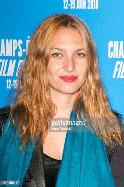 Josephine de La Baume attends the 7th Champs Elysees Film Festival at Cinema Gaumont Marignan on June 12 2018 in Paris France