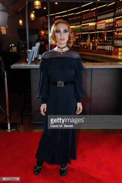 Josephine De La Baume attends the 'Bees Make Honey' official screening during the Raindance Film Festival at the Vue West End on September 23 2017 in...