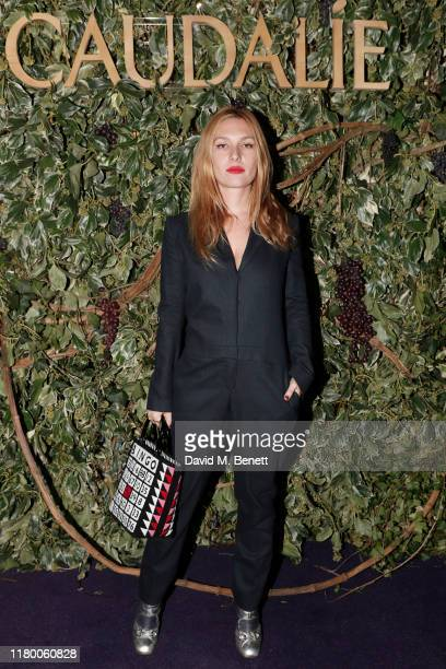 Josephine de La Baume attends the Caudalie Notting Hill opening party on October 09 2019 in London England