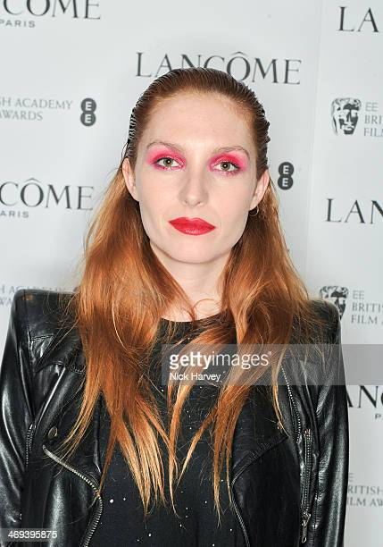 Josephine de La Baume attends the Lacome pre BAFTA party at The London Edition Hotel on February 14 2014 in London England