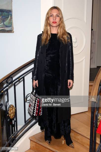 Josephine de La Baume attends the launch of the KheraGriggs Mind Body Spirit Cleanse Clinic at Urban Retreat on October 23 2019 in London England