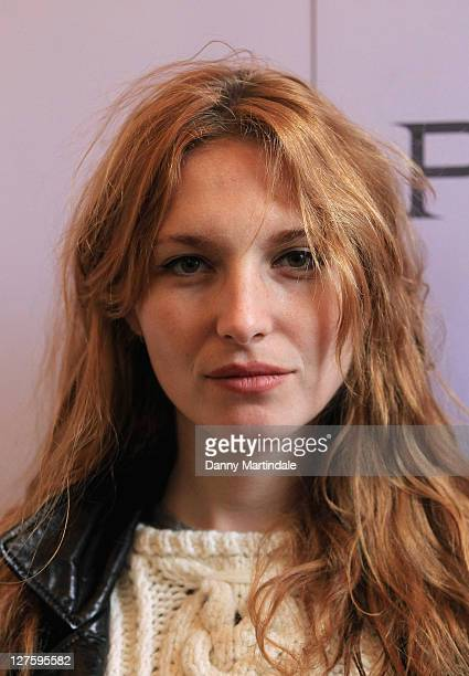 Josephine De La Baume attends the Pringle of Scotland show during London Fashion Week Autumn/Winter 2011 on February 21 2011 in London England