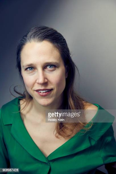 Josephine Decker from the film 'Madeline's Madeline' poses for a portrait in the YouTube x Getty Images Portrait Studio at 2018 Sundance Film...